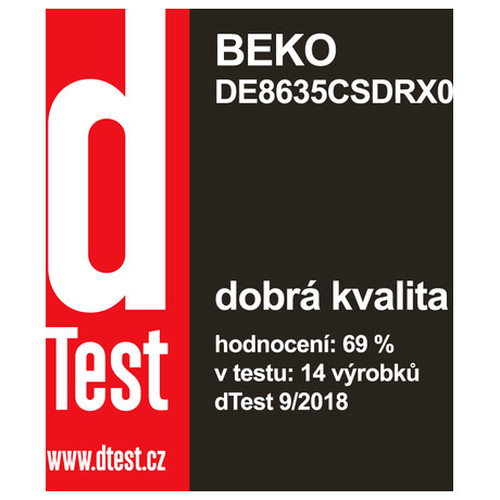 Sušička prádla Beko DE 8635 CSDRX0