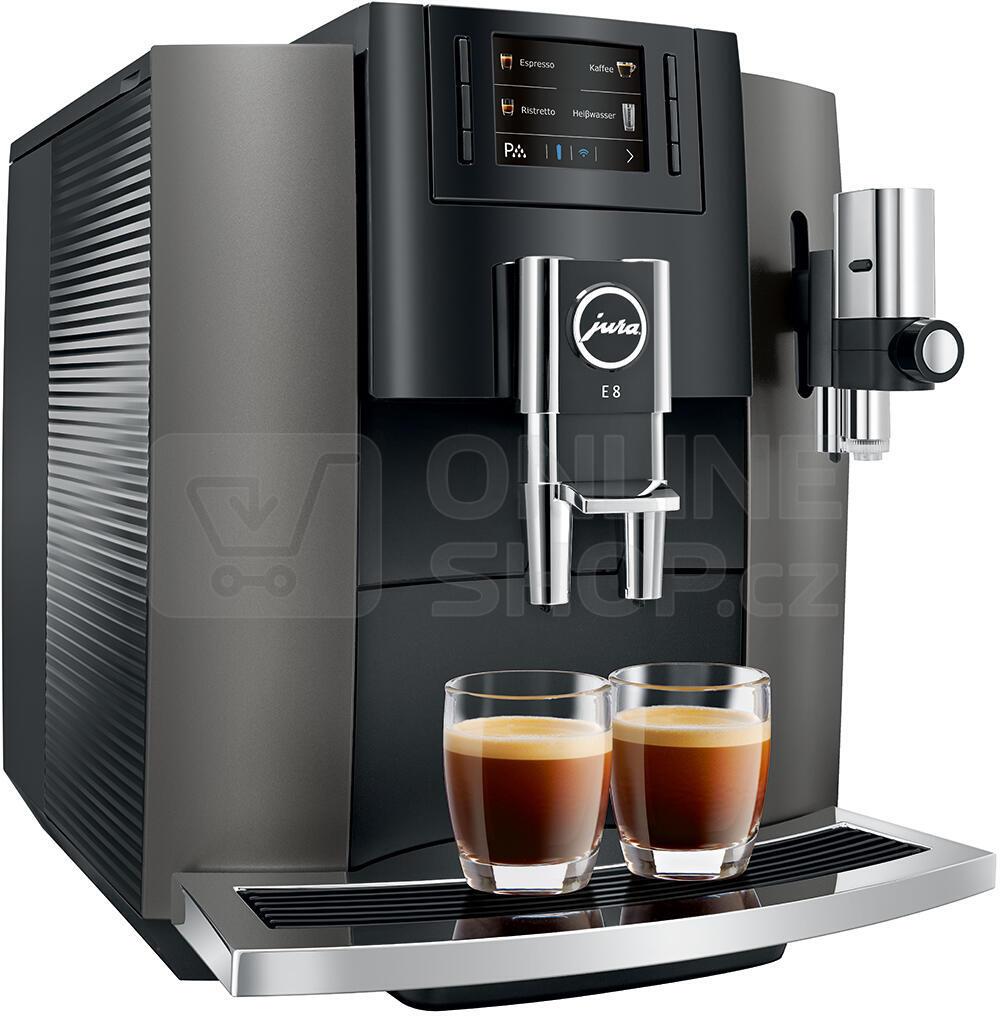 Espresso JURA E8 Dark Inox