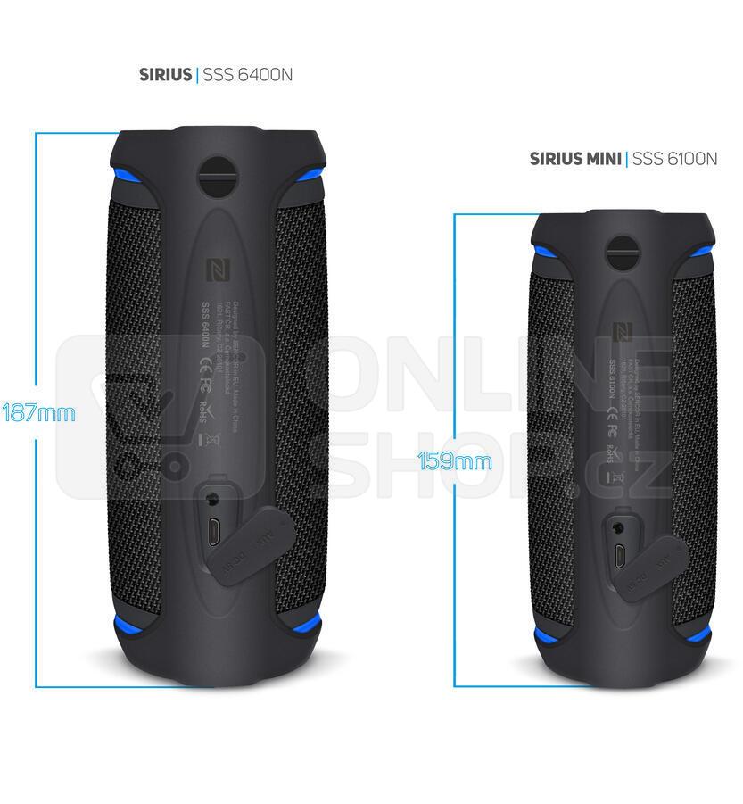 Reproduktor Sencor SSS 6400N Sirius černý