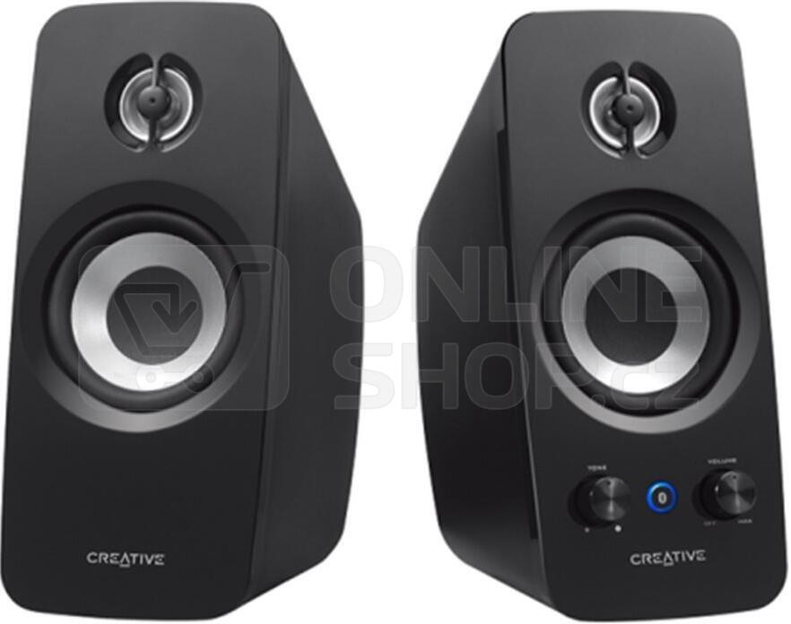 Reproduktory Creative Labs T15 2.0 Bluetooth - černé