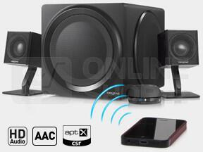 Reproduktory Creative Labs T4 2.1 Bluetooth - černé