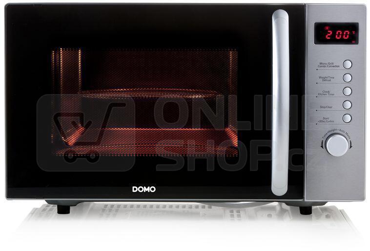 Mikrovlnná trouba DOMO DO2332CG s grilem a horkovzduchem