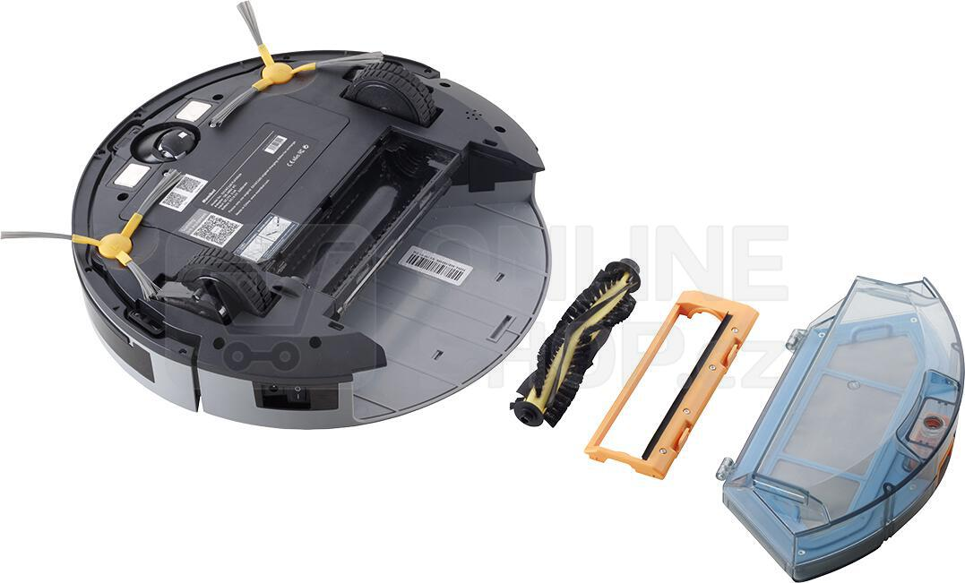 Robotický vysavač Concept VR3000 REAL FORCE 2v1