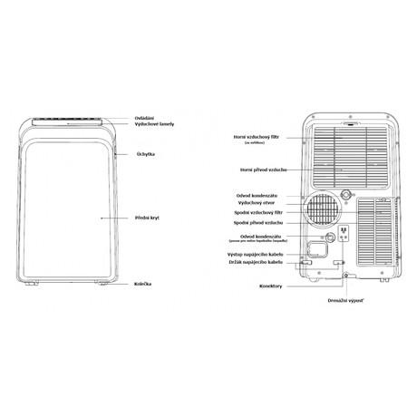 Mobilní klimatizace Midea/Comfee MPDB-09CRN7