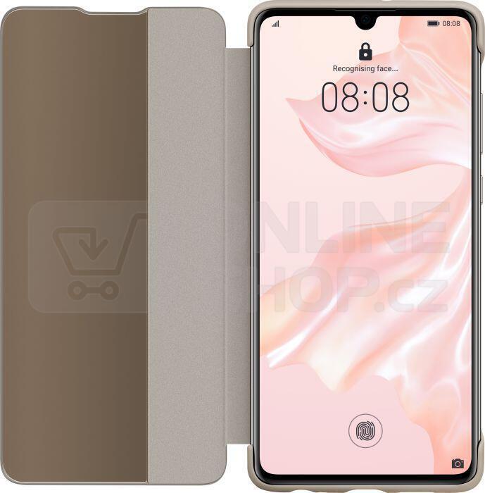 HUAWEI Smart View Flipové pouzdro pro P30 Khaki (51992864)