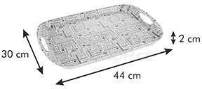 Podnos Tescoma FANCY HOME 44 x 30 cm, káva