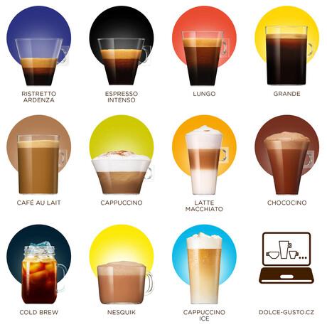 NESCAFÉ® Dolce Gusto® Grande Intenso kávové kapsle 16 ks