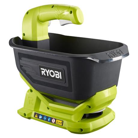 Ryobi OSS1800, aku 18 V rozmetač travního osiva, hnojiva, soli ONE+(bez baterie a nabíječky)