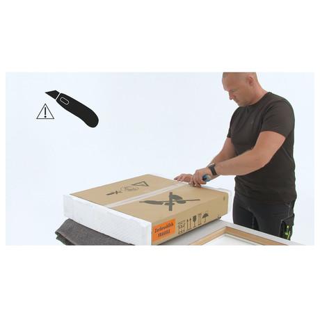 SET Parní trouba ELECTROLUX 600 PRO EOD6C71Z + Indukční deska Electrolux EIS62449