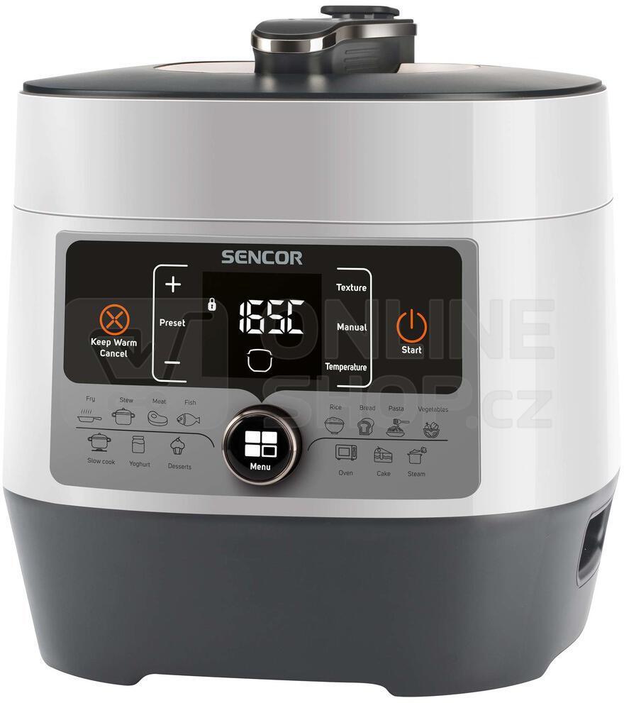 Elektrický tlakový hrnec Sencor SPR 3600WH