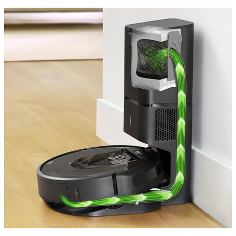Robotický vysavač iRobot Roomba i7 (black 7158)