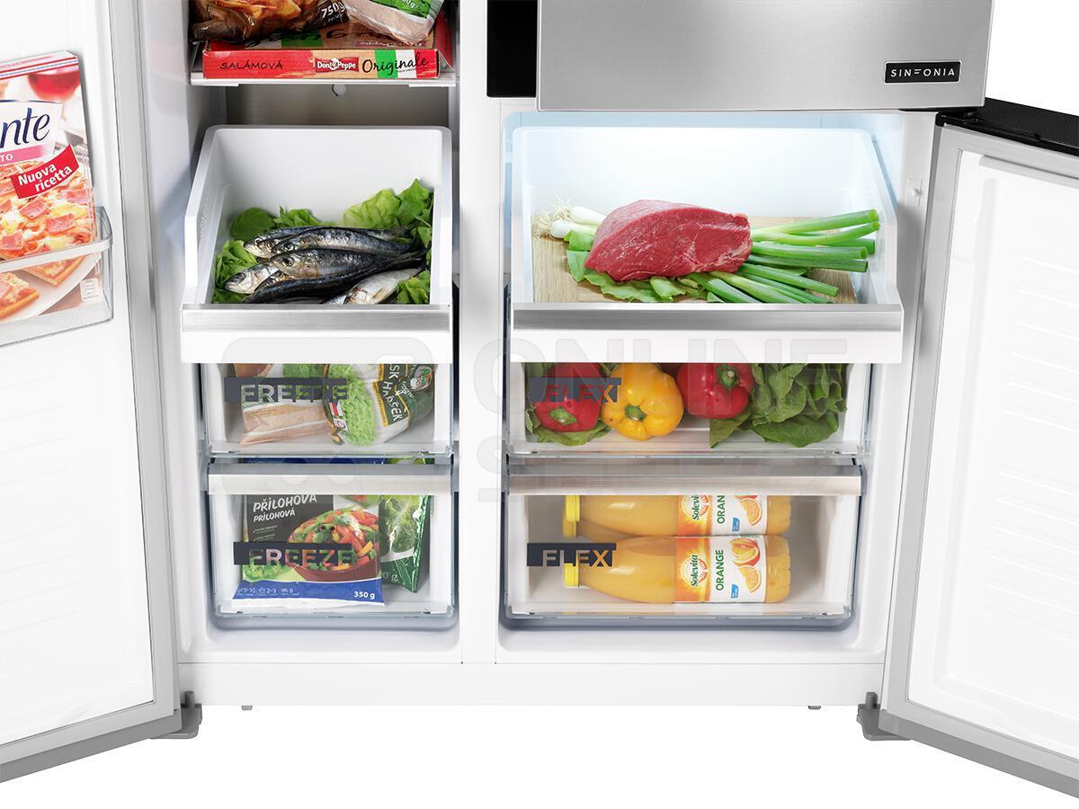 Americká chladnička Concept LA7791ss