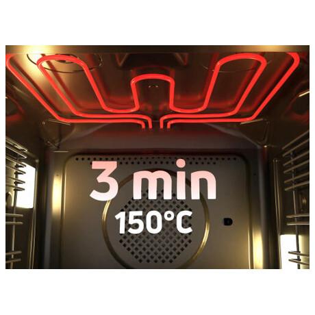SET Parní trouba Amica TFB 114 TSCDX Fusion II. + Plynová deska Amica DP 6411 LZX