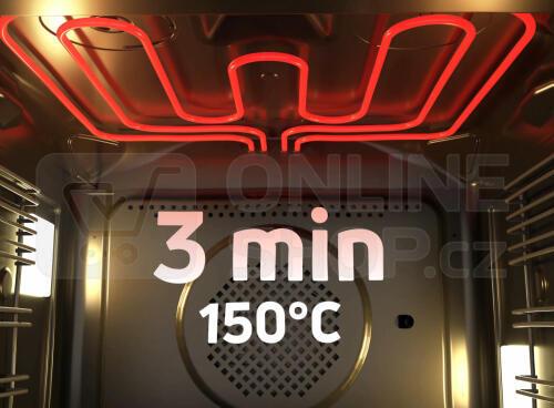 SET Trouba Amica TXB 117 TCKGB X-Type + Indukční deska Amica DI 6411SBB