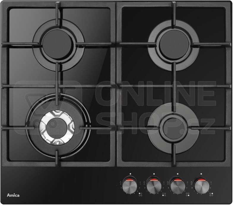 SET Parní trouba Amica TXB 116 TCRBDKB X-Type + Plynová deska Amica DP 6413 LZBG