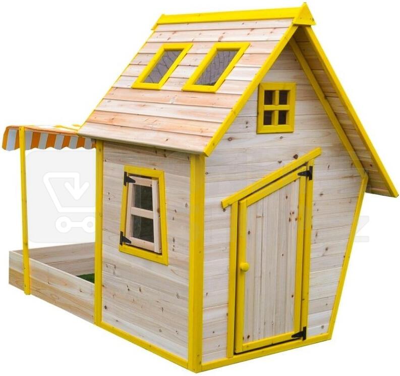 Marimex domeček dětský dřevěný s pískovištěm Flinky (11640353)