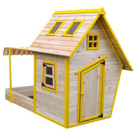 Marimex domeček dětský dřevěný spískovištěm Flinky (foto 1)