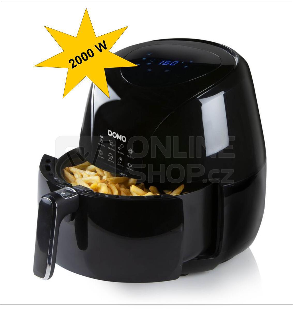 Horkovzdušná fritéza 5 l - digitální - DOMO DO1024FR