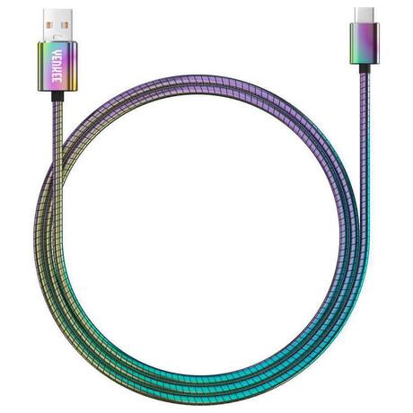 YCU 351 Ocelový USB C kabel / 1m Yenkee