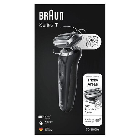 Holicí strojek Braun Series 7 1000s Black