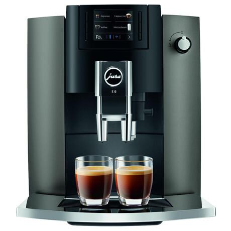 Kávovar JURA E6 Dark Inox
