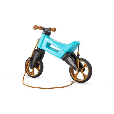 Odrážedlo Funny Wheels Rider SuperSport 2v1 tyrkys