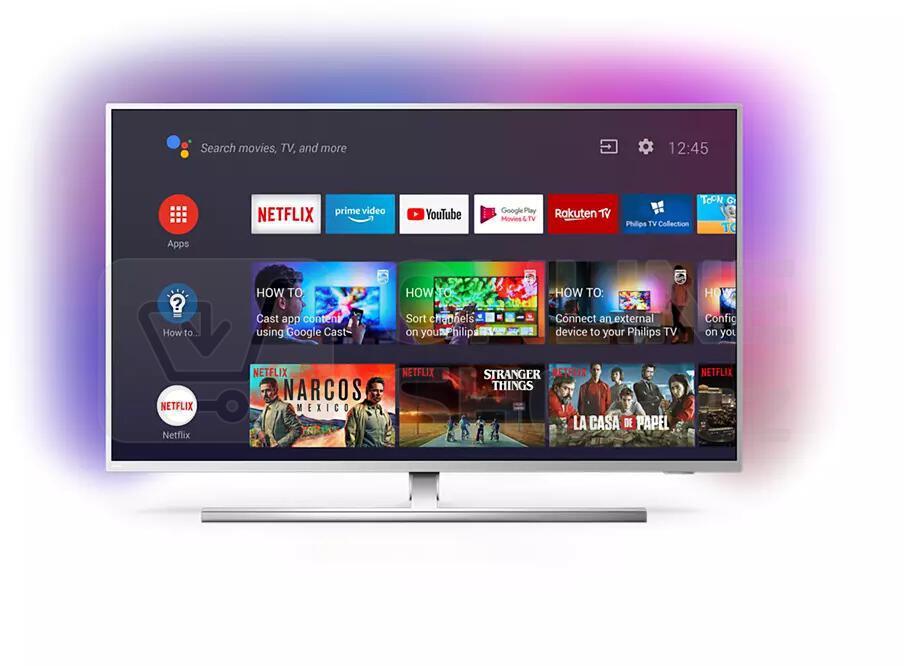 SET UHD LED TV Philips 58PUS8555 + TAB8205