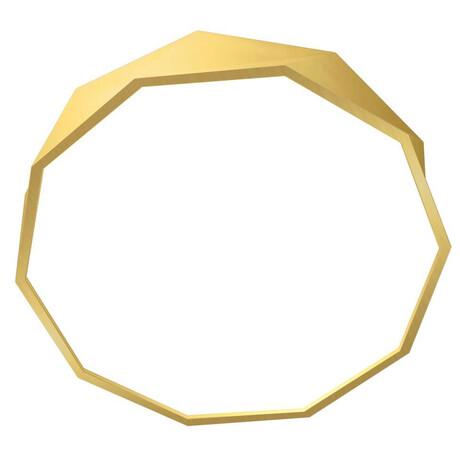 Smart stropní svítidlo Immax NEO DIAMANTE 07132-G60 Zigbee 3.0 60cm W, zlaté