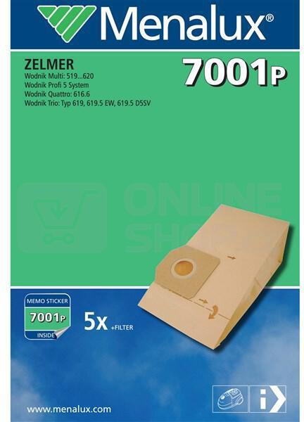 Sáčky do vysavače Menalux CT227E (7001P) do vysav.