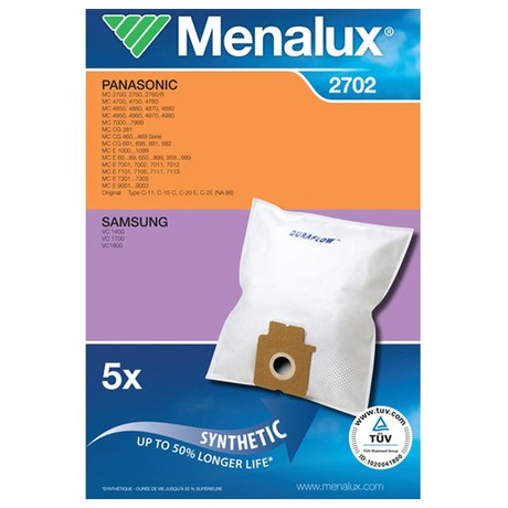 Sáčky do vysavače Menalux DCT 28 Duraflow (2702) do vysav.