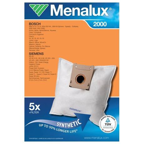 Sáčky do vysavače Menalux DCT 39 Duraflow (2000) do vysav.
