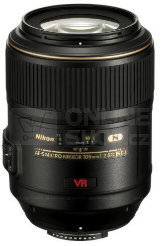 Objektiv Nikon 105 mm F2.8G IF-ED AF-S VR MICRO