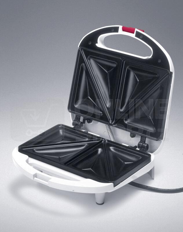 Concept SV3011 Sendvičovač s trojúhelníkovými deskami