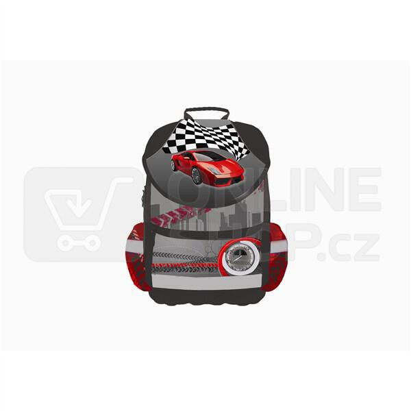 0f717473bfa ... Batoh školní P + P Karton anatomický PLUS Car - Batoh školní P + P  Karton ...