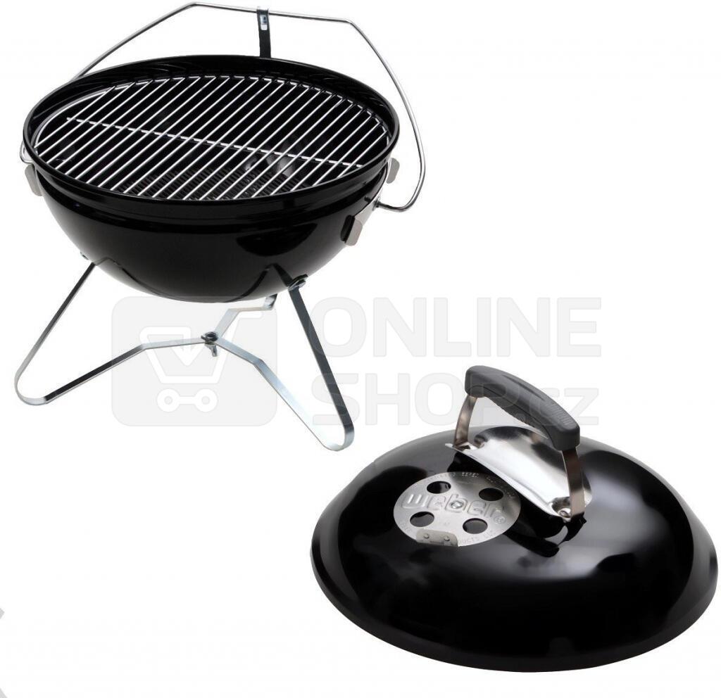 Gril Weber Smokey Joe Premium (37 cm, černý)