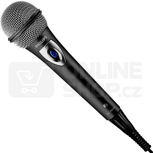 Mikrofon Philips SBCMD150, stříbrný