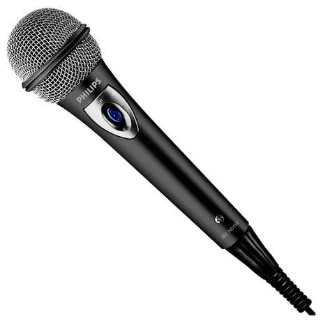 Mikrofon Philips SBCMD150, stříbrný - Philips SBCMD150, stříbrný (foto 1)