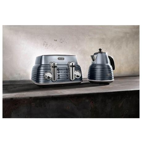 Varná konvice DeLonghi KBZ 2001 GY ocelově šedivá - DeLonghi KBZ 2001 GY ocelově šedivá (foto 6)