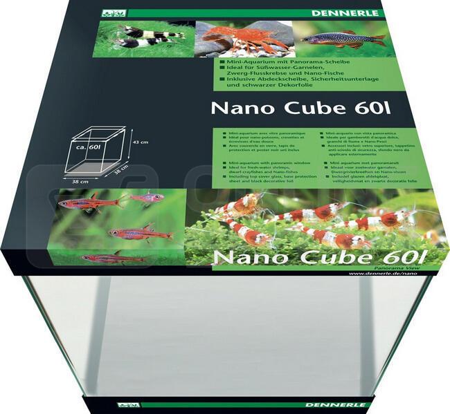 akv rium dennerle nano cube 60l. Black Bedroom Furniture Sets. Home Design Ideas