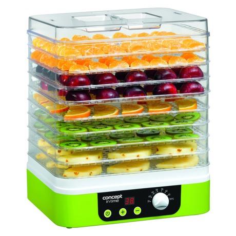 Sušička ovoce Concept SO-1060 IN TIME s časovačem - Concept SO1060 Sušička ovoce IN TIME s časovačem (foto 2)