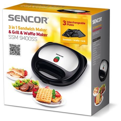 Sendvičovač Sencor SSM 9400SS