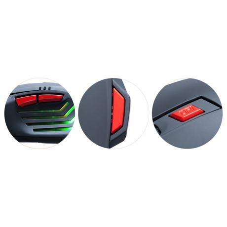 Myš Connect IT Biohazard / optická / 7 tlačítek / 3200dpi - černá