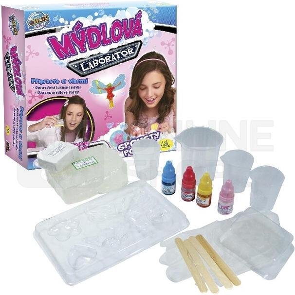 Kreativní sada ALBI Mýdlová laboratoř