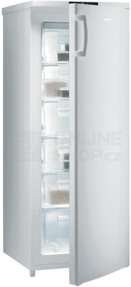Mraznička Gorenje F4151CW, šuplíková