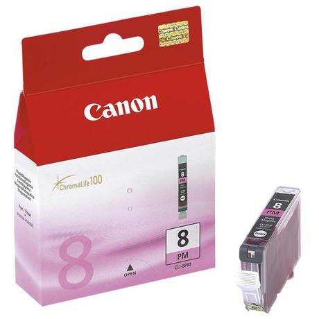 Canon CLI-8PM, 450 stran originální -červená (foto 1)