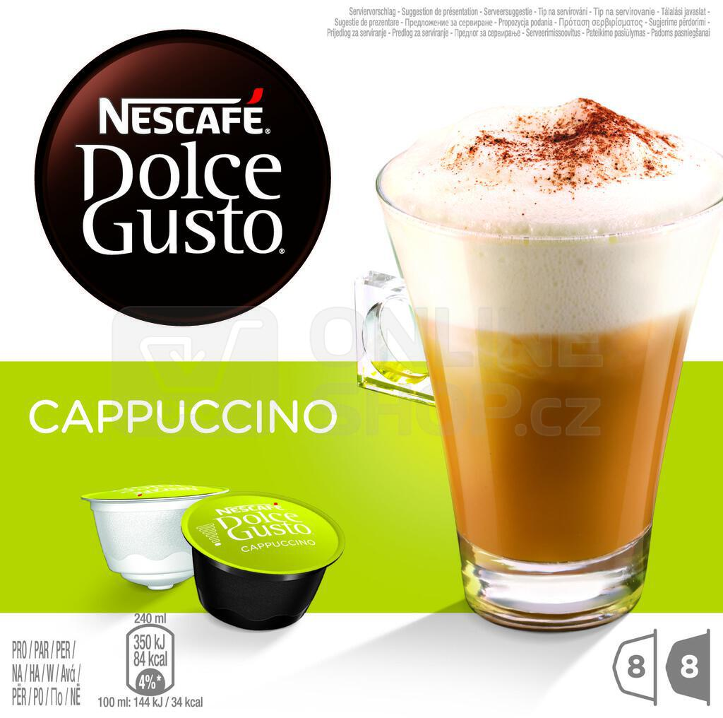 NESCAFÉ® Dolce Gusto® Cappuccino kávové kapsle 16 ks