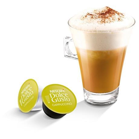 SET Nescafé Dolce Gusto Lungo, 16ks + Cappuccino, 16ks + Cortado, 16ks