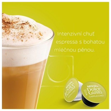 NESCAFÉ® Dolce Gusto® Cappuccino kávové kapsle 16ks (foto 3)
