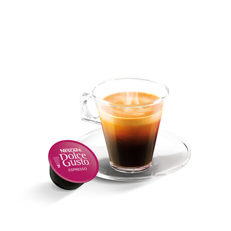 SET Kapsle NESCAFÉ Espresso 16 ks k Dolce Gusto + Kapsle NESCAFÉ Cappuccino 16 ks k Dolce Gusto