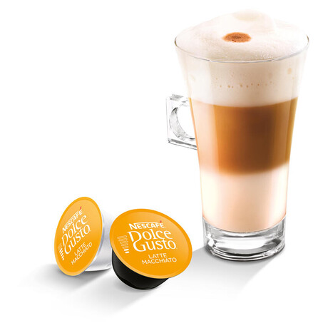 NESCAFÉ® Dolce Gusto® Latte Macchiato kávové kapsle 16 ks